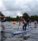 Group Racing on Paddleboards