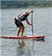 Belar Diaz on Paddleboard